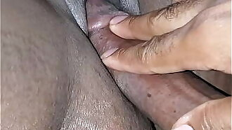 Dick and Rose vibrater in her pussy