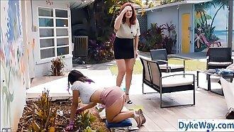 Housewife and lesbian gardener