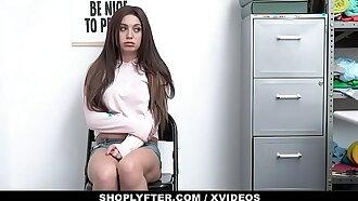 ShopLyfter - Cute Girl (Jojo Kiss) Caught Stealing Bribes Security