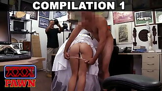 XXX PAWN - Compilation Featuring Mia Sweets, Krystle Jayes, Abby Rose & More