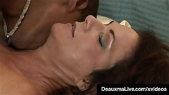 Hung Young Negroid Stud Fucks Hot Mature Mommy Deauxma!